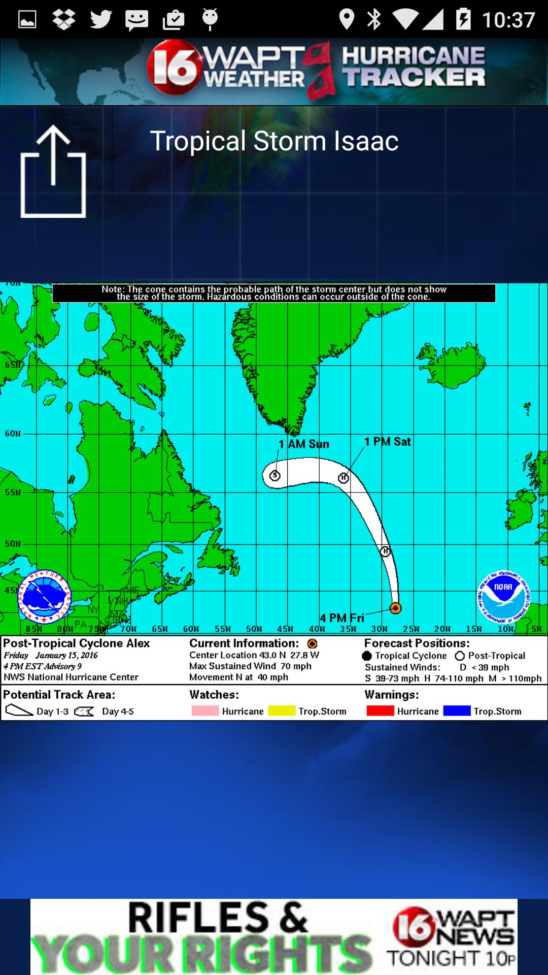 Hurricane Tracker 16 WAPT News for Android - APK Download