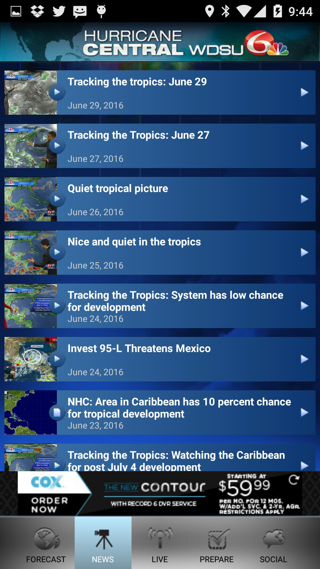 WDSU Hurricane Central for Android - APK Download