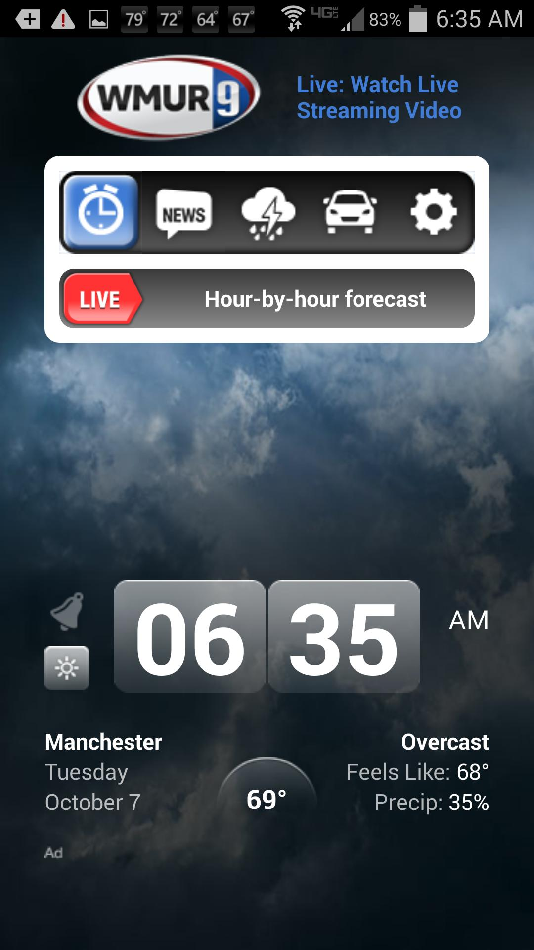 Alarm Clock WMUR New Hampshire for Android - APK Download