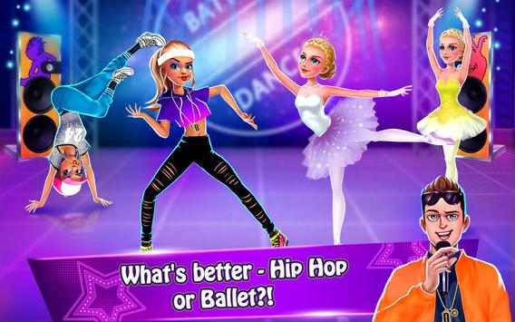 Dance War - Ballet vs Hiphop ❤ Free Dancing Games screenshot 11