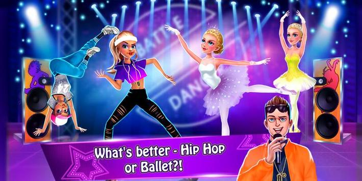 Dance War - Ballet vs Hiphop ❤ Free Dancing Games screenshot 1