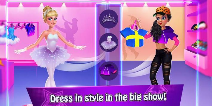 Dance War - Ballet vs Hiphop ❤ Free Dancing Games screenshot 3