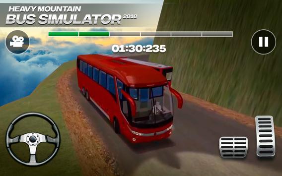 Heavy Mountain Bus Simulator 2018 海報