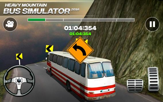 Heavy Mountain Bus Simulator 2018 截圖 1