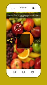 Fruits Detector Prank poster