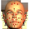 Massage lichaam vlekken-icoon