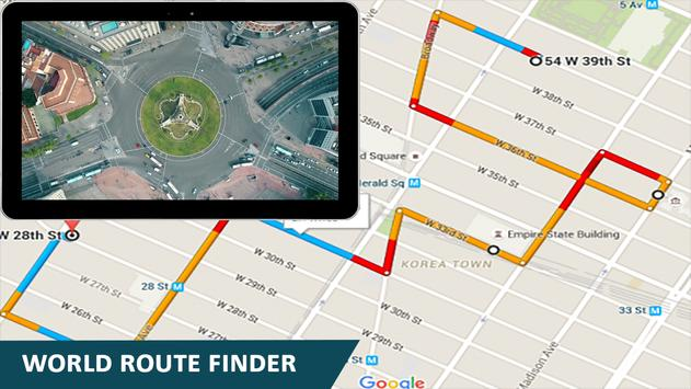 Earth Map GPS Navigation World Street View screenshot 14