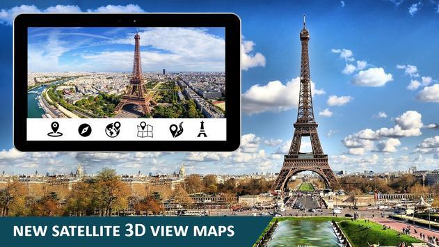 Earth Map GPS Navigation World Street View screenshot 10
