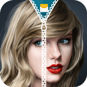 Taylor Swift Zipper Lock Screen icon
