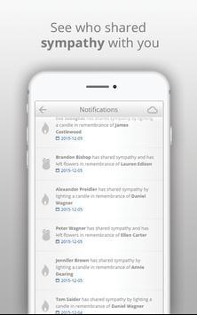 Obituaries, death notice and memorials - Heavenlly screenshot 3
