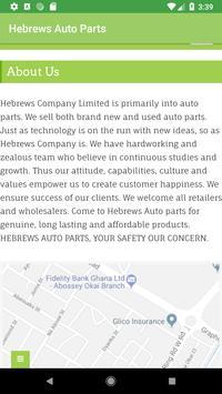 Hebrews Auto Parts screenshot 3