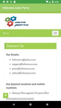 Hebrews Auto Parts screenshot 4