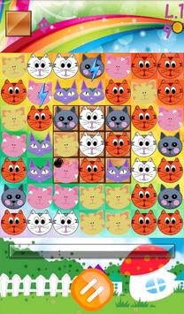 Cat Blast Match 3 Puzzle apk screenshot