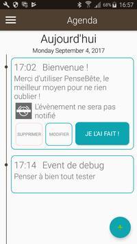 Le PenseBete poster