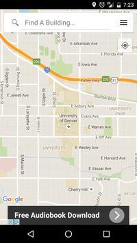 Denver U Maps poster