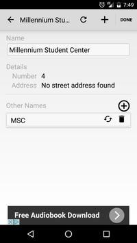 UMSL Maps apk screenshot