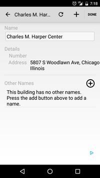U Chicago Maps screenshot 2