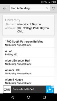 U Dayton Maps screenshot 3