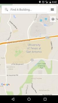 UT San Antonio Maps poster