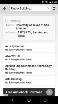 UT San Antonio Maps apk screenshot