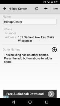 UW Eau Claire Maps screenshot 2