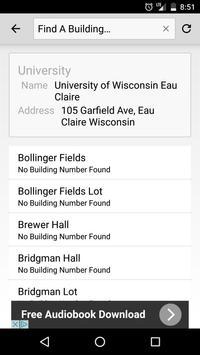 UW Eau Claire Maps screenshot 3
