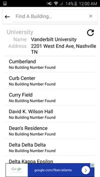 Vanderbilt Maps screenshot 2