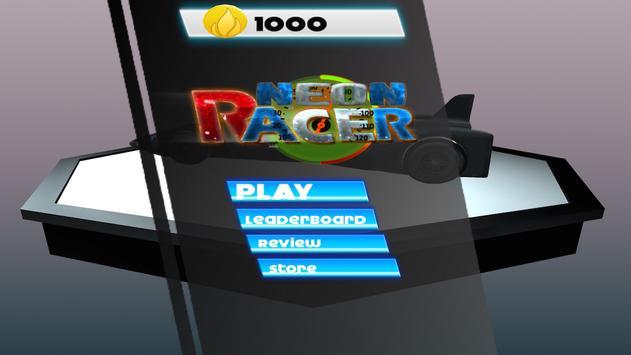Neon Concept Car Racing screenshot 4