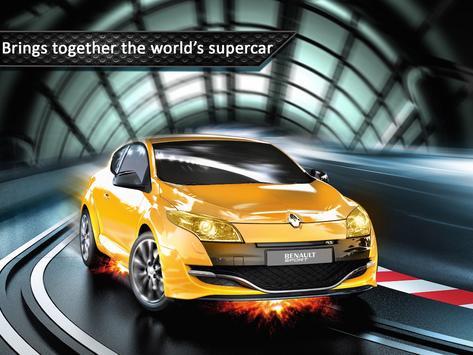 Neon Concept Car Racing poster