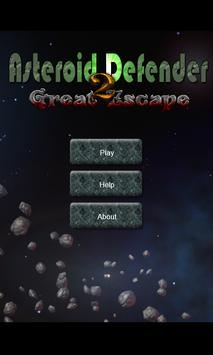 Asteroid Defender Great Escape poster