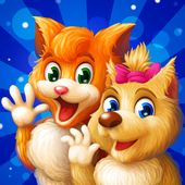 Cat & Dog Story Adventure Games icon