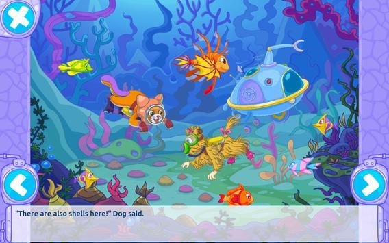 Cat & Dog Story Adventure Games apk screenshot