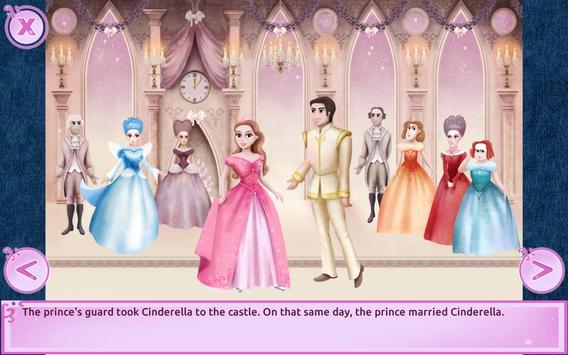 Cinderella Story Fun Educational Girls Games apk screenshot