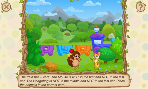 Hedgehog's Adventures: Story with Logic Games Free screenshot 2