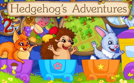 Hedgehog's Adventures: Story with Logic Games Free screenshot 8