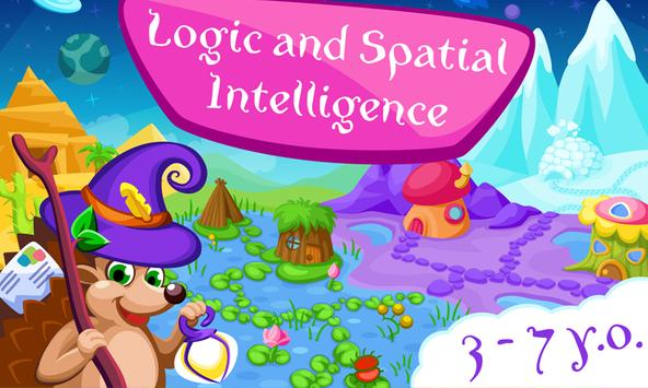 Logic & Spatial Intelligence MiniGame Adventure poster
