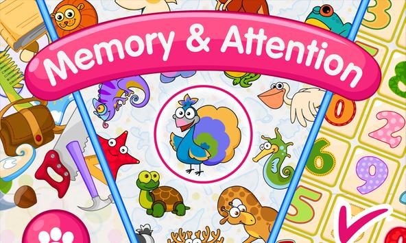 Memory & Attention Training for Kids poster