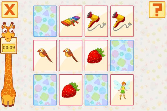 Pairs / Concentration / Pexeso Game Free apk screenshot