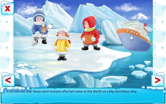 Polar Bear Cub - Fairy Tale with Games Free apk screenshot