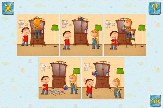 Tell a Story - Game to Train Speech & Logic apk screenshot