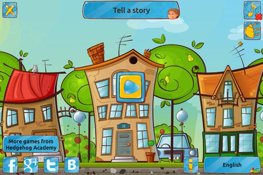 Tell a Story - Game to Train Speech & Logic poster