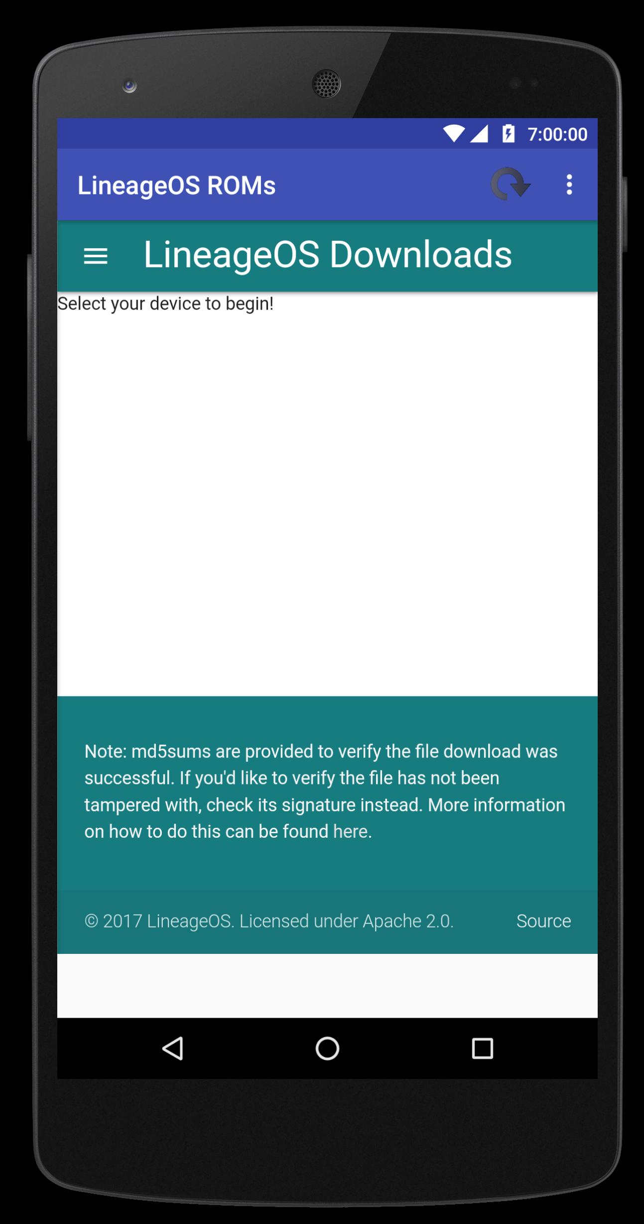 LineageOS ROMs for Android - APK Download