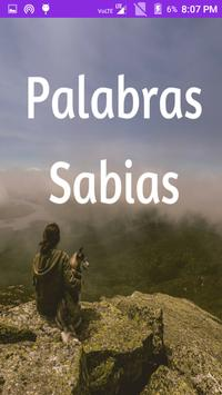 Palabras Sabias poster