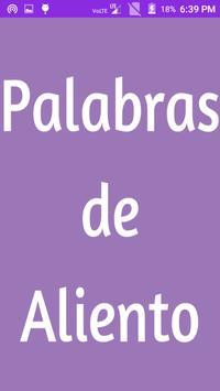 Palabras de Aliento poster
