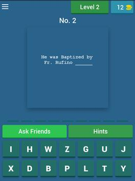 Pinoy Rizal Quiz apk screenshot