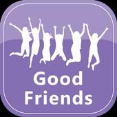 good friends icon