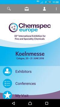 Chemspec Europe 2018 pour Android - Téléchargez l'APK