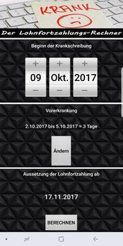 Lohnfortzahlungs-Rechner screenshot 10