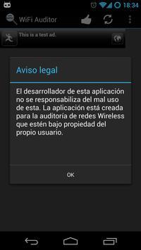 Wifi Auditor apk screenshot