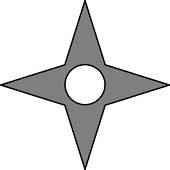Shuriken shooter icon